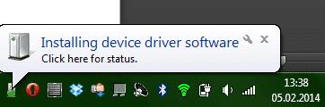 компьютер обнаружил новое устройство. И не смог установить для него драйвер