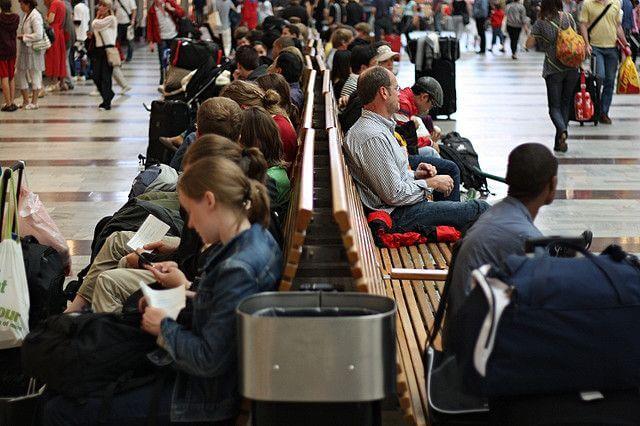 Вокзал Стокгольма который частично отапливается теплом человеческого тела.