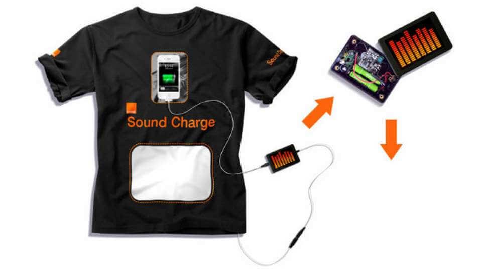 Футболка Sound Charge T-Shirt